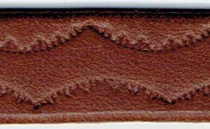 オリジナルブレスレット 打刻の模様