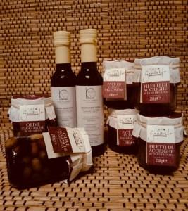 I prodotti con Olive Taggiasche