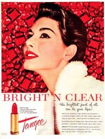 vintage ad tangee red lipstick via lee sutton flickr