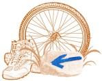 Bottes et Vélo - Emblême