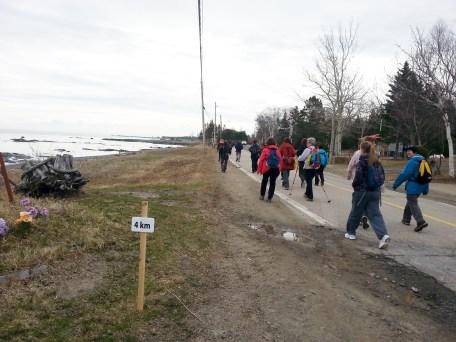 Marche de l'Isle-aux-Coudres - 2014-05-03 09.48.46