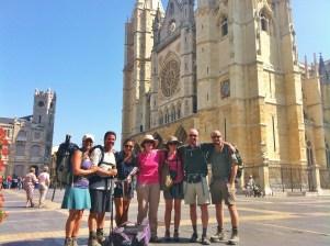 Camino Frances - Cathédrale de Lèon