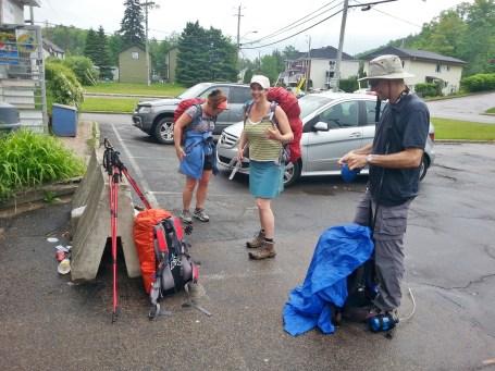 Bottes et Vélo - Chemin de la Traverse - Jour 1