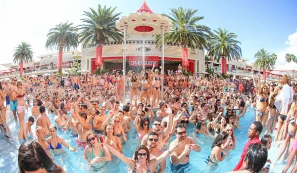 Top Pool Parties in Vegas