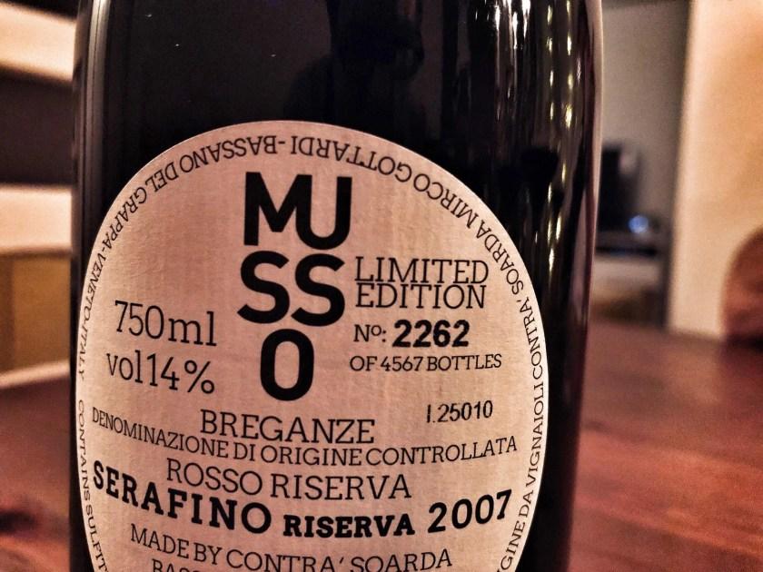 Bottled Grapes, Musso, Contra Soarda, Italien, Wein, Rotwein, Veneto, Riserva, Esel, Cuvée