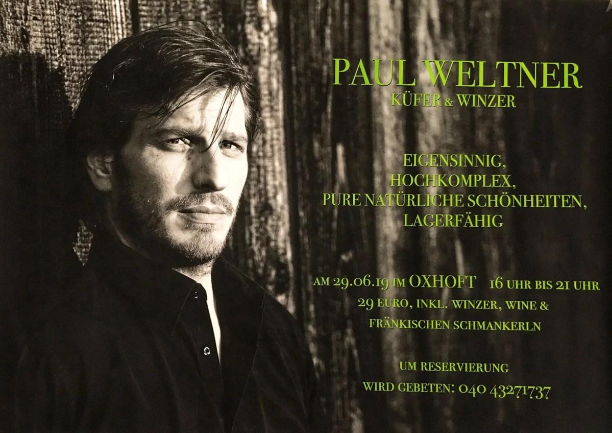 Winzer Paul Weltner in Hamburg: Sylvaner – traditionell und doch ganz anders