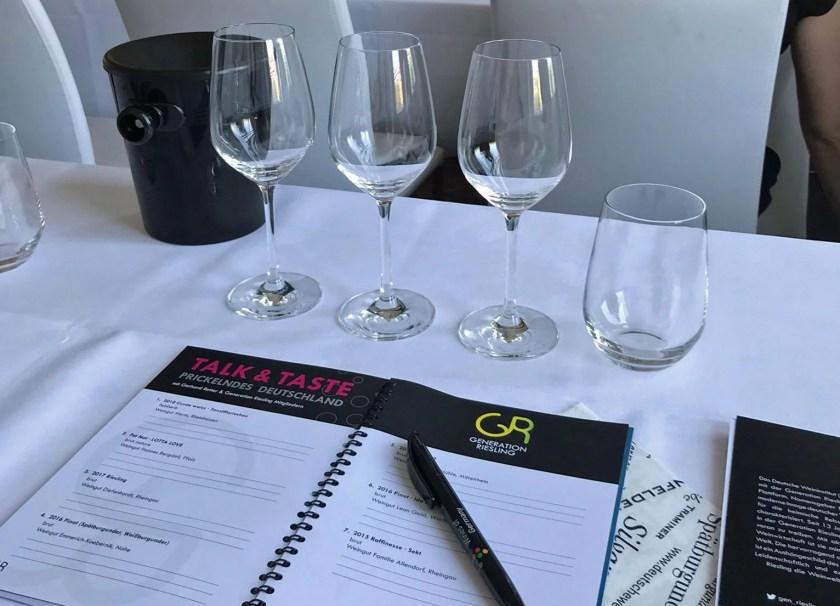 Generation Riesling, Hamburg, Wein, Weinverkostung, Bottled Grapes