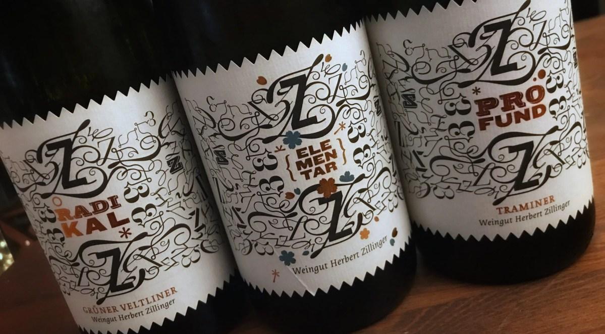 Edition Z: Drei außergewöhnliche Weine von Herbert Zillinger