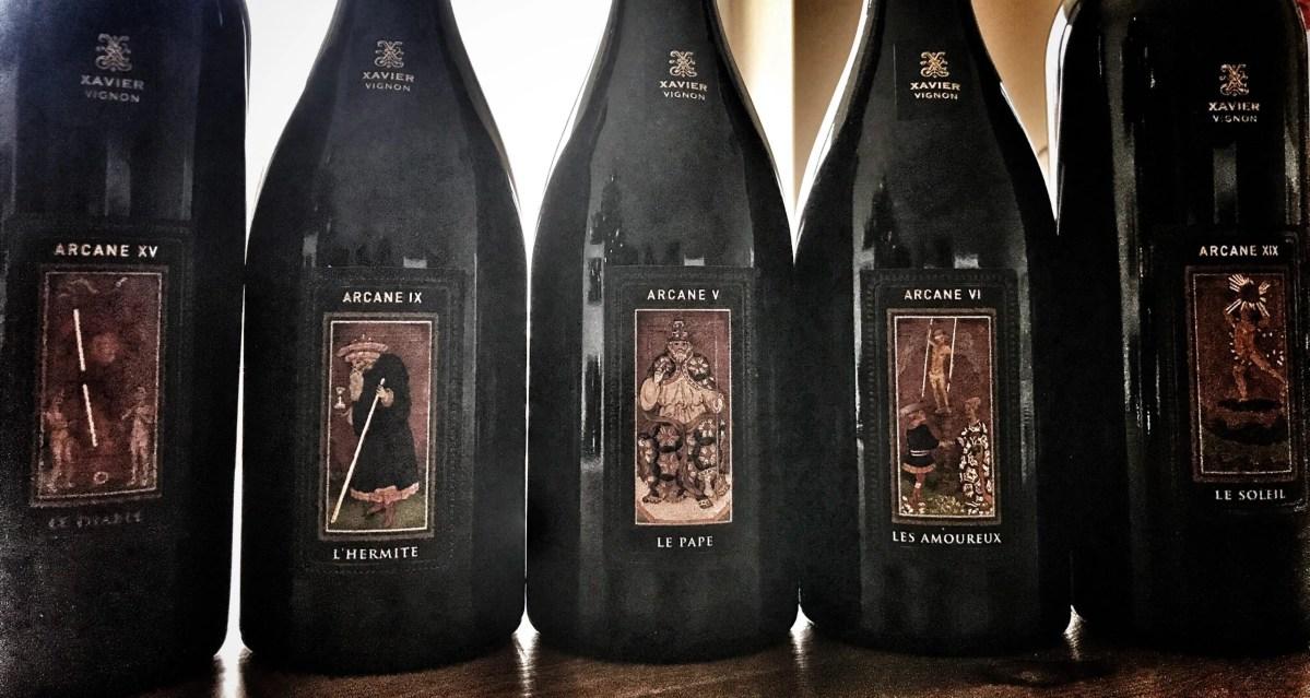 Xavier Vignon, Arcane, Tarot, Wein, Bottled Grapes