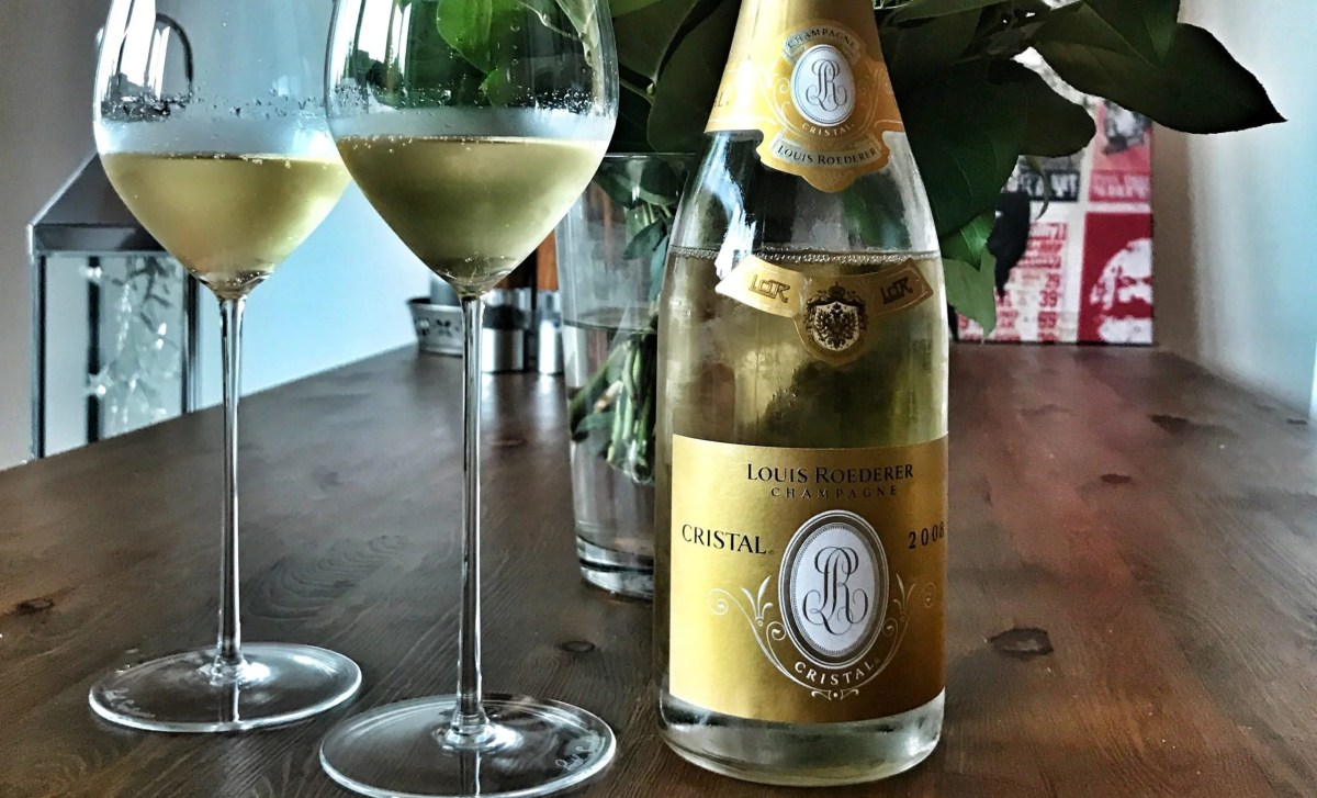 Champagner, Roederer Cristal, Bottled Grapes