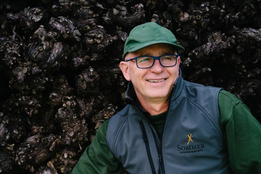 Winzer Leo Sommer senior vom Weingut Sommer im Burgenland