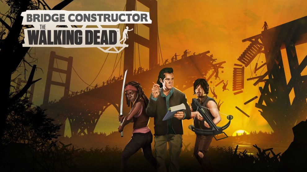 Bridge Constructor The Walking Dead game tasting