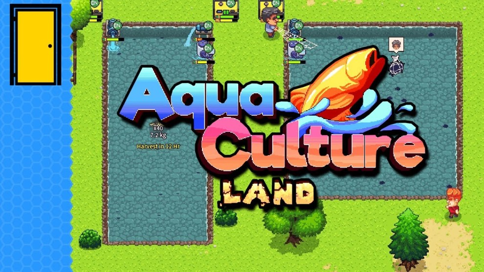 Aquaculture Land game tasting