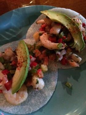 Machete Tacos de Camaron Con Callo