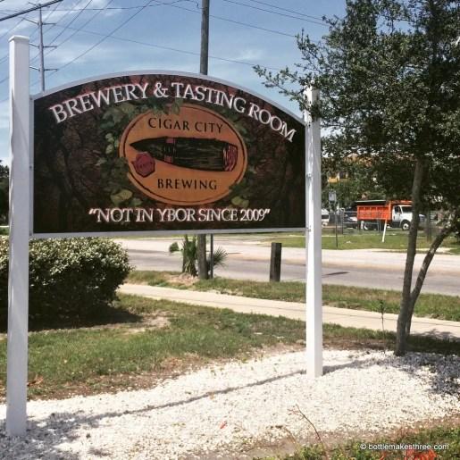 Exploring Florida Craft Beers - Cigar City Brewing Co, Tampa FL   BottleMakesThree.com