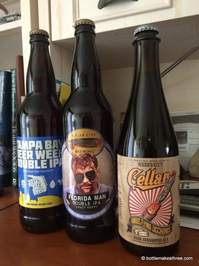 Florida Craft Beer Haul   BottleMakesThree.com