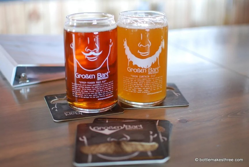 Review of Großen Bart Brewery in Longmont, CO   http://bottlemakesthree.com