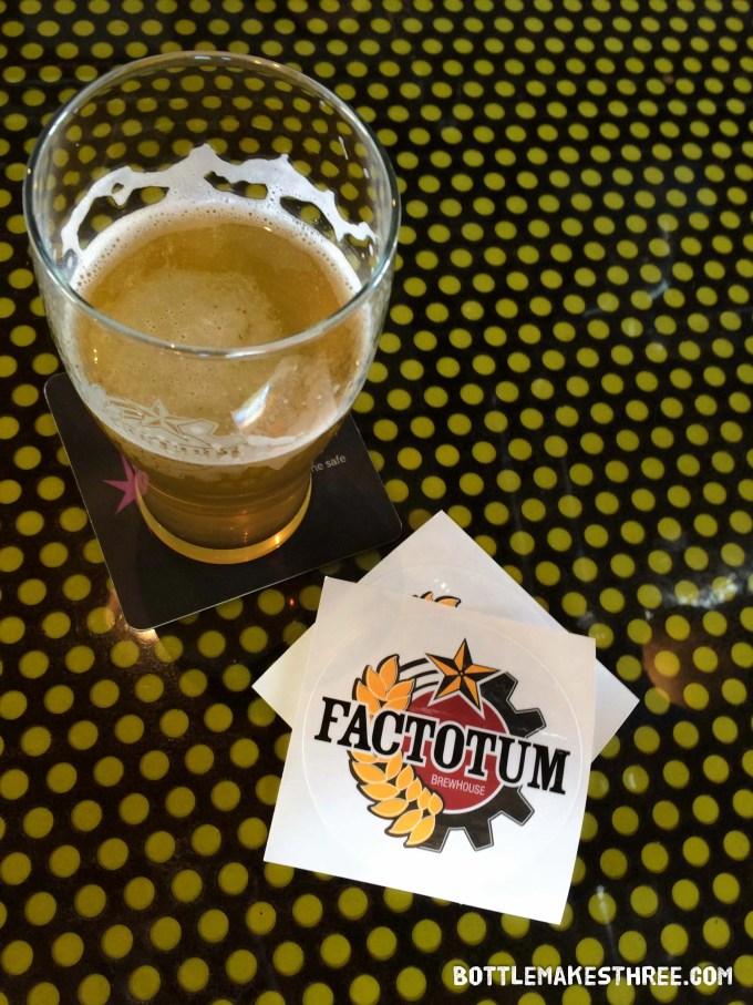 Factotum Brewhouse, Denver CO | bottlemakesthree.com