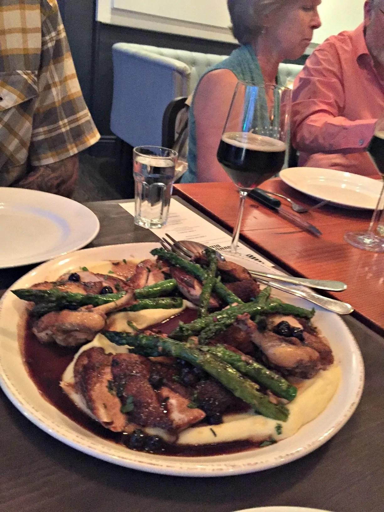 Recap: Rogue Beer Dinner at The Kitchen | BottleMakesThree.com