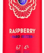 58 Distillery – Raspberry Hard Seltzer