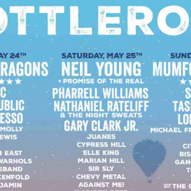 Bottlerock Lineup and Set Times