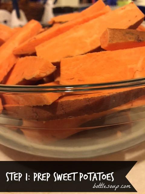 Step 1: Prep Sweet Potatoes