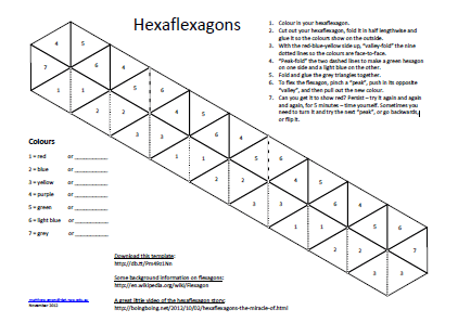 1000 images about hexaflexagons on pinterest printable activities
