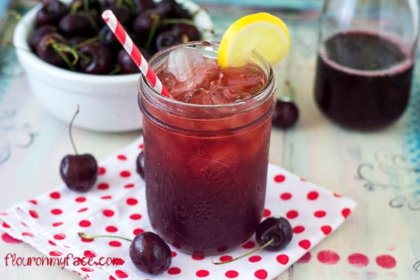Sweet Cherry Iced Tea