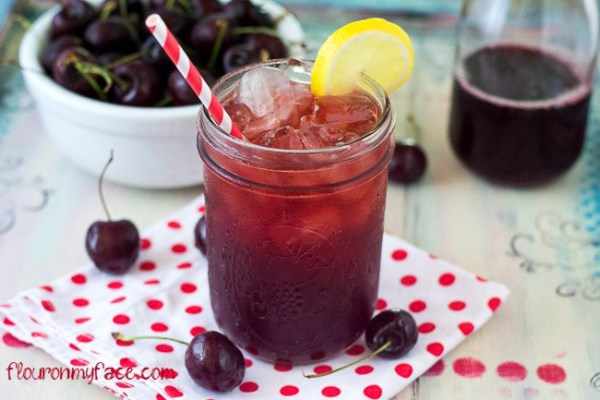 Sweet Cherry Iced Tea