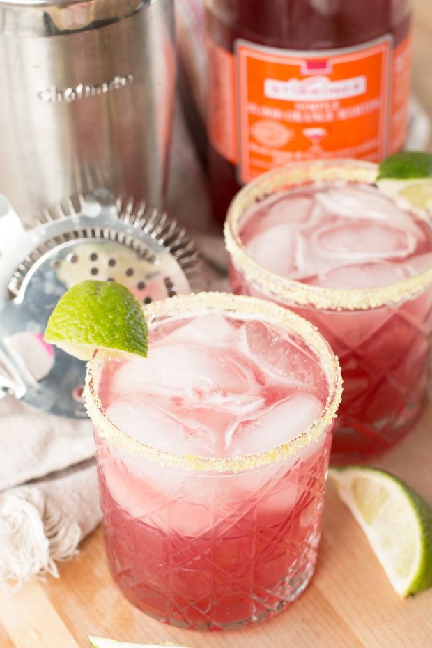 Winter Citrus Margarita from Cake N Knife | 'Celebrate with 8' for National Margarita Day | Bottom Left of the Mitten