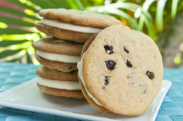 The Ultimate Ice Cream Maker Cookie Sandwich from Recipe This | 'Celerbate with 8' for Ice Cream Sandwich Day | Bottom Left of the Mitten