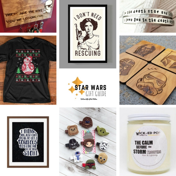 Star Wars Gift Guide | Bottom Left of the Mitten