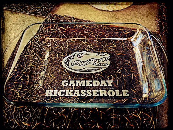Gameday Kickasserole Tailgating Dish from ModernPrintDesigns | Celebrate with 8 for Game Day | Bottom Left of the Mitten