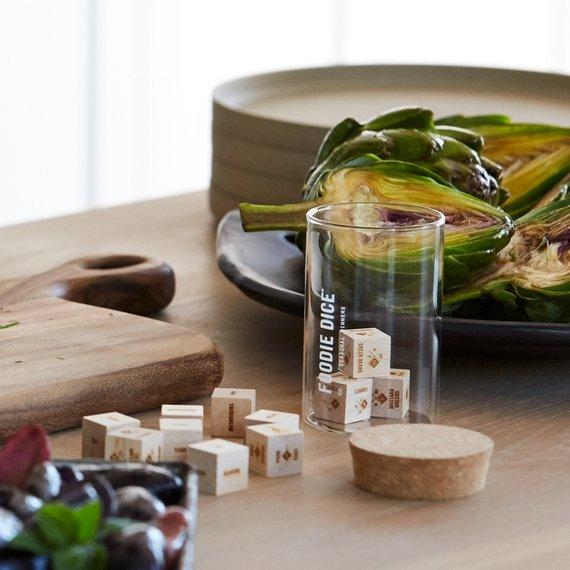 Foodie Dice® Seasonal Dinners Tumbler from TwoTmbleweeds | Foodie Gift Guide | Bottom Left of the Mitten