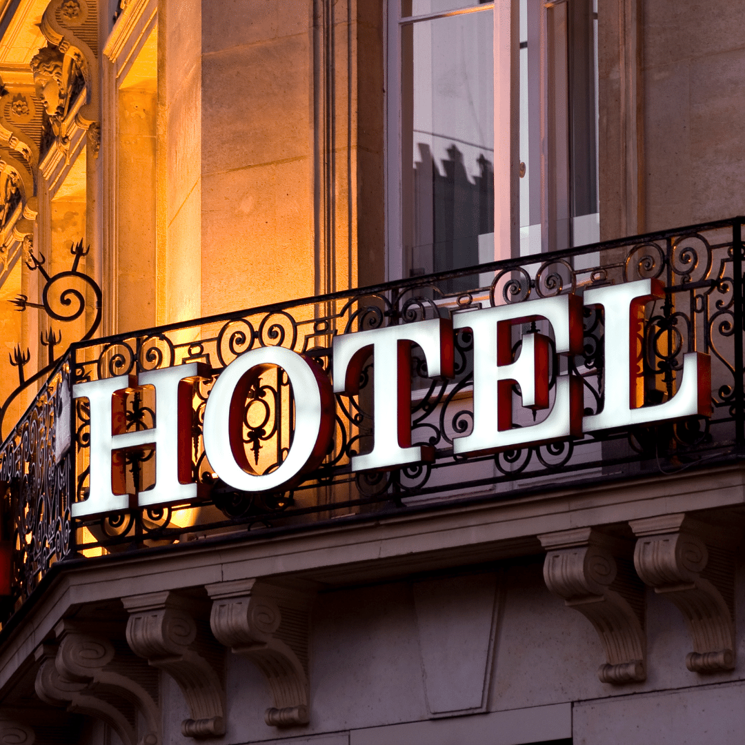 Vending for hotels and inns