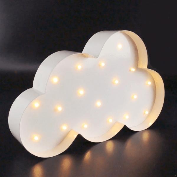 Lampe LED Nuage En Mtal Par Sass Amp Belle