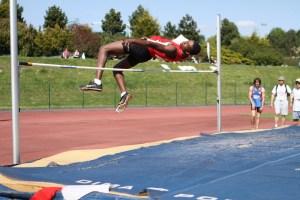 William, facile en début de concours à 1.70m avant de battre son record avec 1.90m