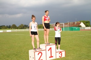 Marion championne de l'Oise sur 2000m