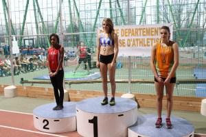 Dernier podium pour Rébecca, 2nde sur 50m haies