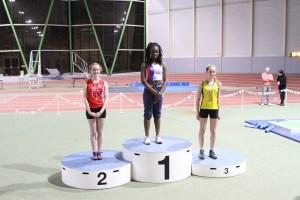 Léa vice-championne de Picardie sur 50m