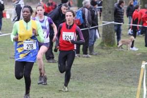 Julie dans les 500 derniers mètres