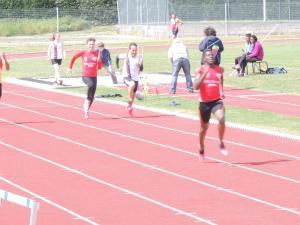 Ali et Cyprien au 200m
