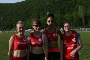 Les 4 filles du 4*100m