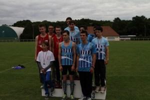 Et les garçons vice-champions de l'Oise