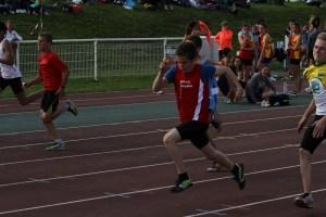 Matthieu en finale du 50m