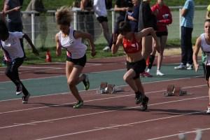 Ethel en finale du 50m