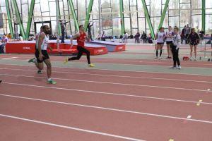 """Une belle réussite pour la première compétition d'Alexis, champion de l'Oise senior du 60m dans le très bon chrono de 7""""37"""