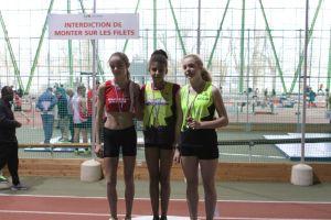 Clara vice-championne de Picardie à la hauteur