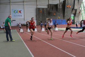 Justine en finale B du 50m