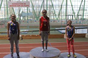 Clara championne de Picardie du 50m